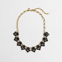 Factory black geo necklace : Jewelry | J.Crew Factory