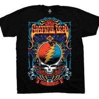 """New! Grateful Dead """"Steal Your Trippy"""" Classic Rock Band Licensed Adult T-Shirt"""