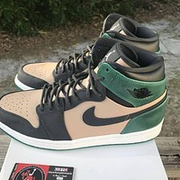 Fashion High Premium 'Mystic Green' high-top sneakers basketball shoes