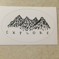 Explore Sticker