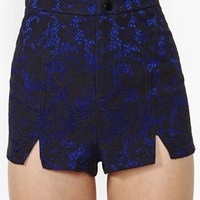 Nasty Gal Midnight Bloom Lace Shorts