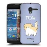 Head Case Designs Scottish Fold Kitty Cats Protective Snap-on Hard Back Case Cover for Motorola Moto X