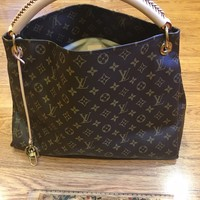 Authentic LOUIS VUITTON Artsy MM Monogram Hobo Bag With Original Dust Bag & Box
