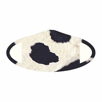 Cow Fabric Face Mask (Pre-Order)