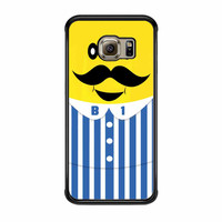 Bananas iPhone Banana Mustache Samsung Galaxy S6 Edge Case