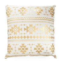 ModCloth Boho Remains to Be Sheen Pillow