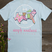 No Matter The State Tee | Simply Southern