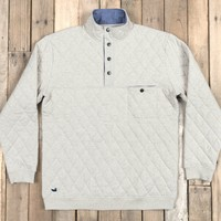 Southern Marsh Ryan Quilted Pullover - Oatmeal