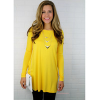 Time Well Wasted Yellow Long Sleeve Dress