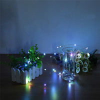 30 LEDs Copper Wire Light 3M String Lights For Christmas Festival Wedding Party Home Decoration Lamp