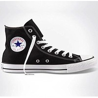 """""""Converse"""" Fashion Casual Running Canvas Flats Sneakers Sport Shoes Black G"""