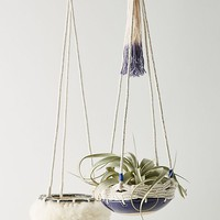 Textured Hanging Planter