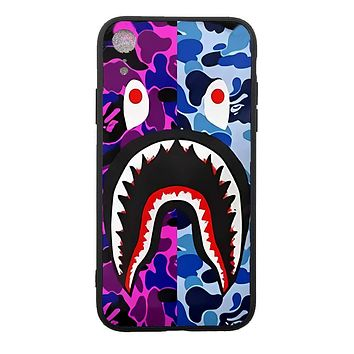 JNKPOAI Bape Shark iPhone XR Case TPU Case iPhone XR Back Cover