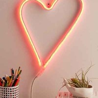 LED Heart Sign - Urban Outfitters