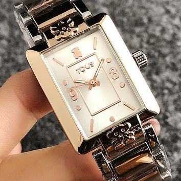 8DESS Tous Women Fashion Quartz Classic Wristwatch Watch