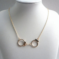 New Handcuff Statement Necklace Private Label one size by Alisha's Fashion ~ Taking Offers On ALL Items~ Reasonable Offers Accepted! ~