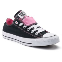 Converse Chuck Taylor All Star Double Tongue Plaid Sneakers for Women
