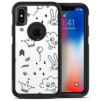 Joker, Clouds, and Balloon Doodle - iPhone X OtterBox Case & Skin Kits