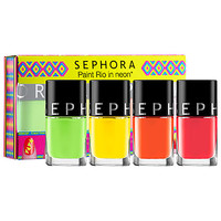 SEPHORA COLLECTION Paint Rio In Neon* Nail Set