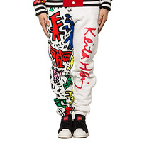 Joyrich | Man & Dog Sweat Pants Multi