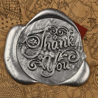 Thank you/My friend/Love/Good Luck/Miss you/For you Symbol Wax Seal Stamp Label
