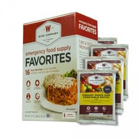 Wise Company Emergency Survival Freeze Dried Food Favorites