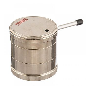 Sharper Handle Metal Grinder w/ Pipe