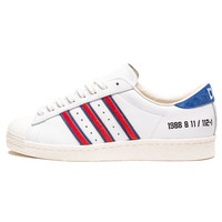 "ADIDAS CONSORTIUM X DMOP SUPERSTAR ""10TH ANNIVERSARY"" - WHITE/RED/BLUE 