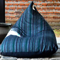Voodoo Lounge Handloom Bean Bag Chair