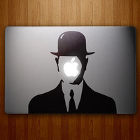 The Son of Apple Magritteinspired Son of Man Vinyl by DecalLab