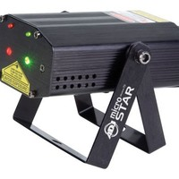 American Dj Supply Micro Star Green And Red Laser Multi Beam With Remote