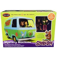 Skill 1 Snap Model Kit The Mystery Machine with Two Figurines (Scooby-Doo and Shaggy) 1/25 Scale Model by Polar Lights POL901