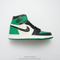 Air Jordan 1 Retro High OG Pine Green/Black-Sail