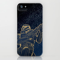 Star Wars Gold Edition iPhone & iPod Case by Anas Alshanti
