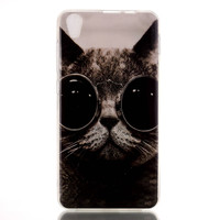 Glasses Cat Case Cover for iPhone & Samsung Galaxy iPhone 6s Plus