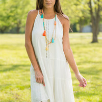 Perfect In My Eyes Dress, Ivory