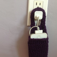 Phone Charging Caddy by PeaceLoveAndPresents on Etsy