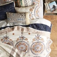 Otsu Quilt by Anthropologie Neutral