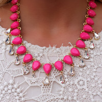 Pink Ladies Necklace