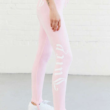 Juicy Couture Velour Drawstring Stirrup Pant   Urban Outfitters
