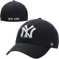 New York Yankees '47 Brand Cooperstown Collection Franchise Fitted Hat - Navy Blue