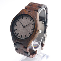 New Arrival Japanese Miyota 2035 Movement Wristwatches with Wooden Strap Wood Watches for Men and Women Christmas Gifts = 1956530116