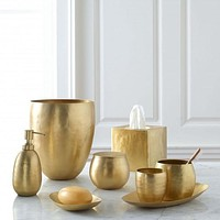 Nile Brass Bath Accessories by Kassatex