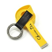 Yellow Military Belt