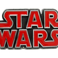Red Starwars Belt Buckle