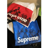 Chic Supreme UNDERCOVER Seven Samurai  Fashion Casual Print Round Neck Pure Cotton Tee Top
