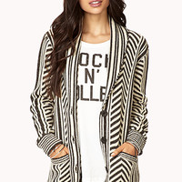 Mixed Stripes Cardigan   FOREVER 21 - 2019572866