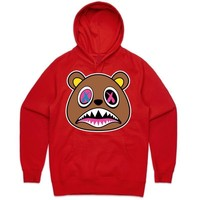 Crazy Baws Red Sneaker Hoodie