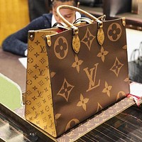 Louis Vuitton LV GG Classic Presbyopia Checkerboard Belt Letter Buckle Belt bag