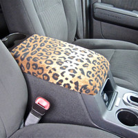 Center Console Cover CHEETAH/ZEBRA Print for Nissan Altima 2010 - 2012 CC-24 (Sample Picture) Lid Cover